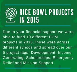 Rice bowl 2015