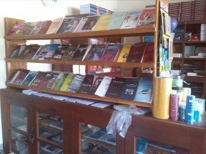 Freshly stocked with Christian literature in the Mizo language